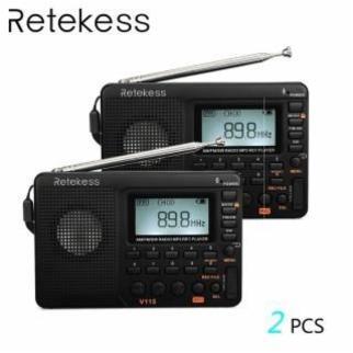 PCS RETEKESS V115 FMAMSW RADIO 러시아 2 pcs