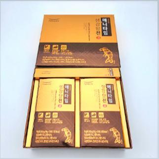 풀무원 생강탕진 선물세트 50T  1박스 - [풀무원녹즙] 풀무원 애니타임 생강탕진 하루한포로 채우는 하루건강 선물세트 50T