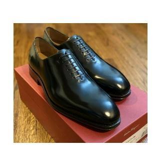 Ferragamo Carmelo TRAMEZZA Men s Leather Oxford Shoes 13D NIB 995 Salvatore Ferragamo Carmelo TRAMEZZA Men s Leather Oxford Shoes 13D NIB 995