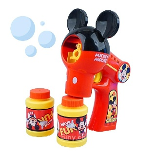 (디즈니) 미키마우스 멜로디 자동 버블건 ( 비눗방울)  버블건 어린이장난감 자동버블건 732124