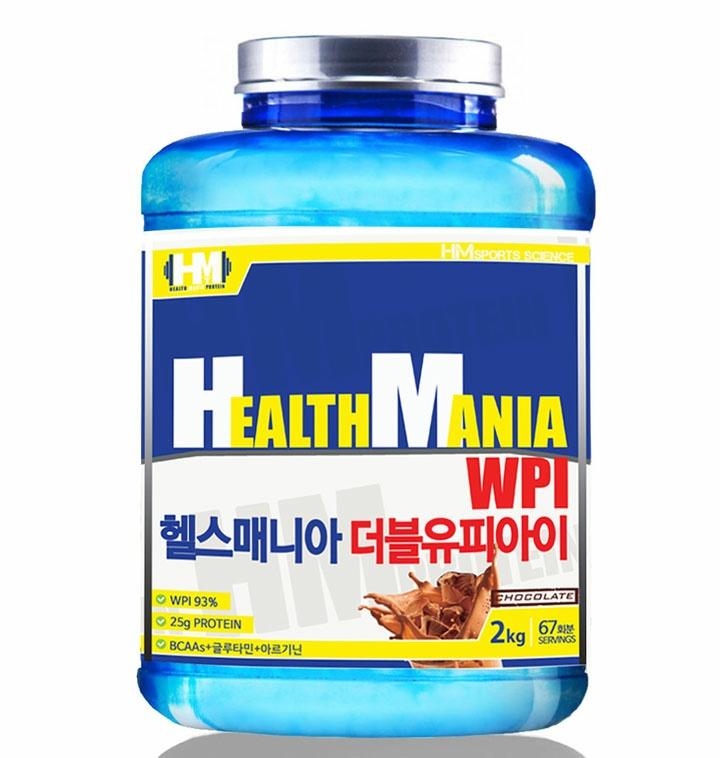 네이버 헬스관련 NO.1 30만 회원 의견을 모아 출시 헬스매니아 WPI 2kg 두가지맛