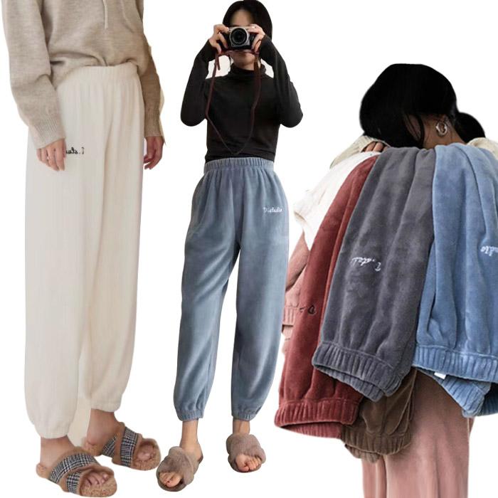 [티몬111111] 히트상품 1+1 포근한 융털 마카롱팬츠 2개이상 구매시 사은품