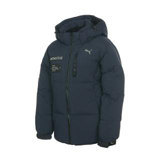 푸마 Sporty Down Uni Down Jacket 네이비 897570 01  XS 85 윈터 다운 점퍼 자켓 특별한 가격