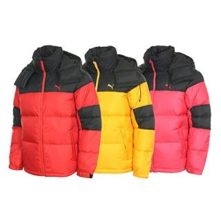 푸마 Bulky Down Jacket 레드 892747 03  M 95 윈터 다운 점퍼 자켓 특별한 가격