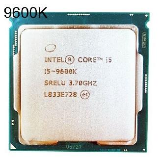 코어 i5 9세대 9600K 커피레이크 R 벌크 쿨러미포함 - CPU 코어i7