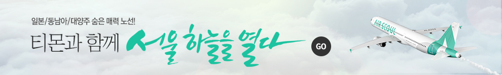 티몬과 함께 서울 하늘을 열다