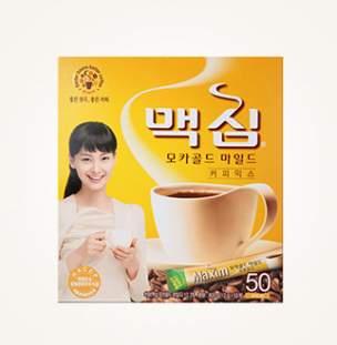 [슈퍼마트]맥심 모카골드 커피믹스 50T