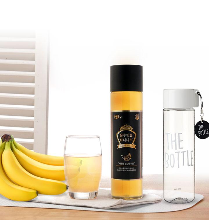 건강 프로젝트! 올댓 발효 바나나초 500ml