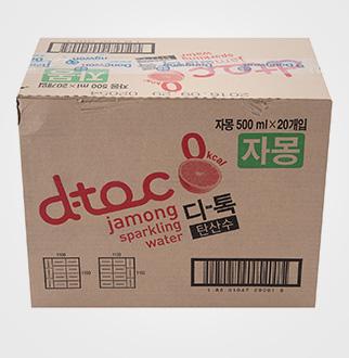 [슈퍼마트]스파클링워터D-Toc(디톡)자몽맛500ml*20