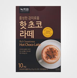 [슈퍼마트]녹차원 초코라떼 10스틱