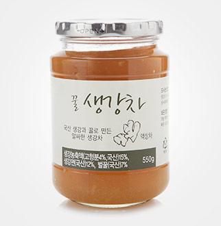 [슈퍼마트]ORGA 꿀 생강차 550g