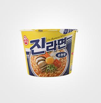 [슈퍼마트]오뚜기 진라면 순한맛 큰컵110g * 12입