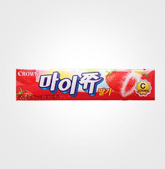 [슈퍼마트]크라운 마이쮸 딸기 44g*3