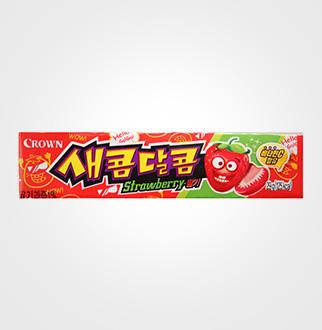 [슈퍼마트]크라운 새콤달콤 딸기 29g