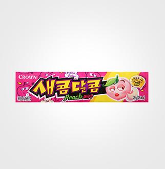 [슈퍼마트]크라운 새콤달콤 복숭아 29g