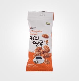 [슈퍼마트]길림양행 커피땅콩40g