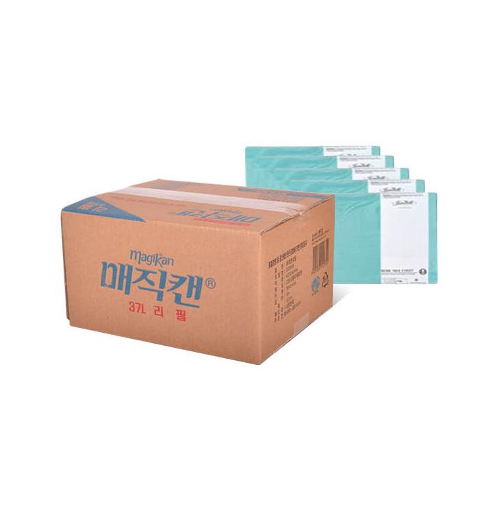 [슈퍼마트]매직캔_330R5B-37리터리필-5개(롤)