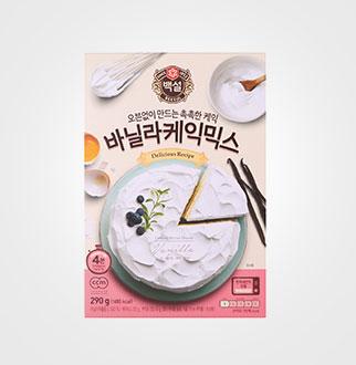 [슈퍼마트] CJ 백설 바닐라케익 믹스 290G