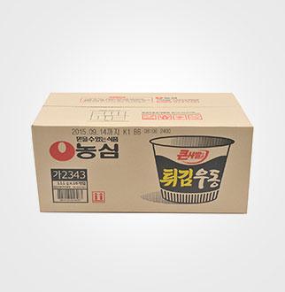 [슈퍼마트]튀김우동 큰사발 111g*16입