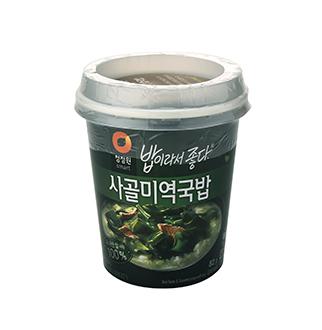 [슈퍼마트]청정원 사골 미역국밥 82g