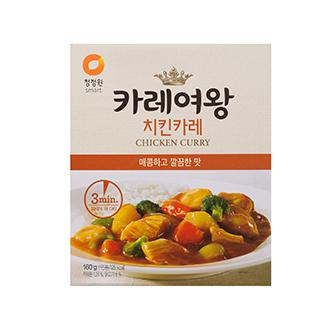 [슈퍼마트]카레여왕 치킨카레 160g