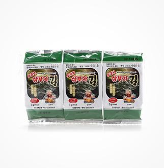 [슈퍼마트] 삼부자 도시락김 5g*3봉