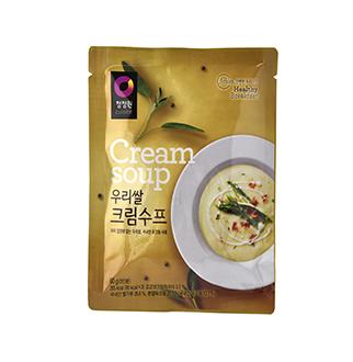 [슈퍼마트]청정원 우리쌀 크림수프 60g