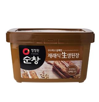 [슈퍼마트]청정원순창재래식생된장 1kg