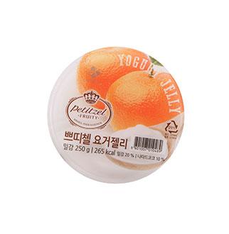 [슈퍼마트] 쁘띠첼 요거젤리 밀감 250g