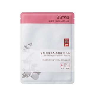 [슈퍼마트] 일리 리얼 코튼 무화과 마스크 1매