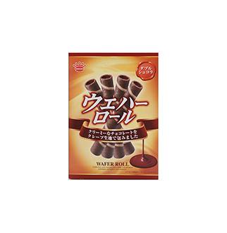 [슈퍼마트]킨도 초콜릿와플롤105g