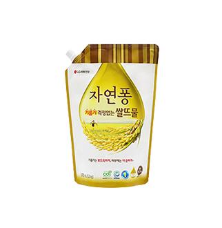 [슈퍼마트]자연퐁 기름기걱정없는 쌀뜨물 리필1.4L