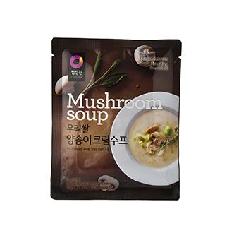 [슈퍼마트]청정원 우리쌀양송이수프60g