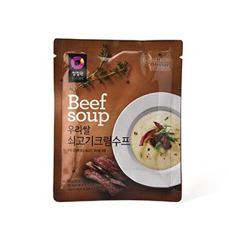 [슈퍼마트]청정원 우리쌀쇠고기수프60g