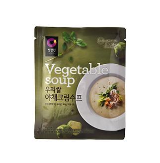 [슈퍼마트]청정원 우리쌀 야채수프 60g