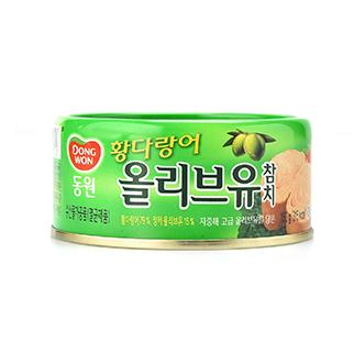 [슈퍼마트]동원 황다랑어 올리브유 참치 150g