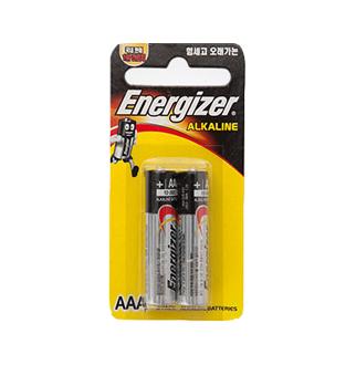 에너자이저 알카라인 AAA(2입)