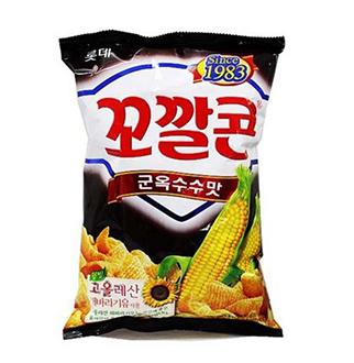[슈퍼마트]꼬깔콘해바라기군옥수수77g