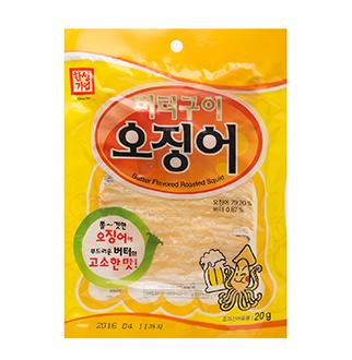[슈퍼마트]한성버터구이오징어(통) 20g