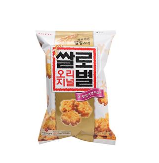 [슈퍼마트]롯데 쌀로별 오리지널 78g