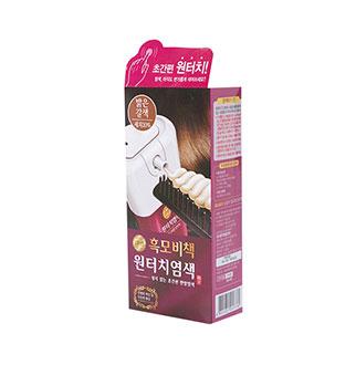 [슈퍼마트]리엔 흑모비책 원터치 밝은갈색 80g