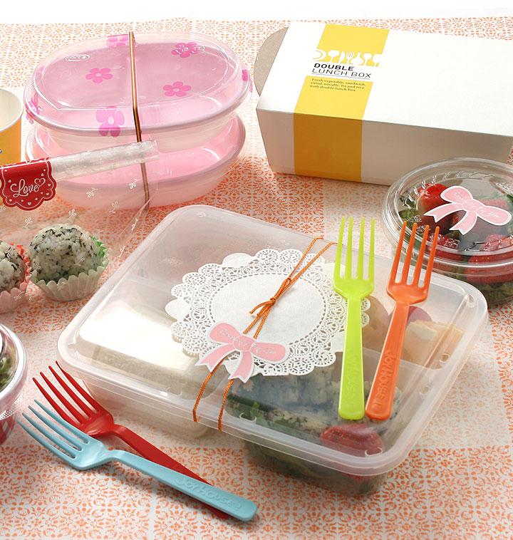 삼각김밥재료&일회용도시락