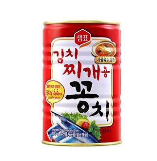 [슈퍼마트]샘표 김치찌개용 꽁치 400g