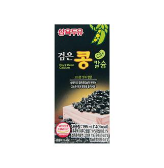 [슈퍼마트]삼육 검은콩칼슘두유 195ml*24팩