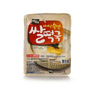 [슈퍼마트]백제 어머님손맛 쌀떡국 163g
