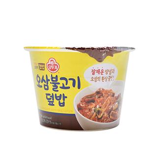 [슈퍼마트] 오뚜기 맛있는컵밥 오삼불고기덮밥280g