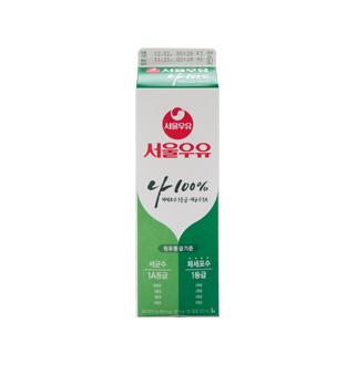 [슈퍼마트]서울우유 1급A 우유 1000mlx1개