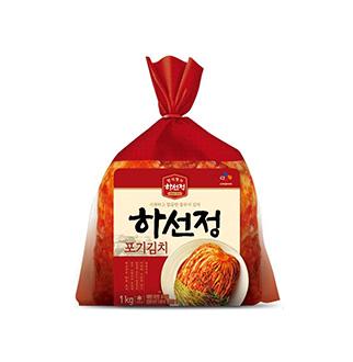 [슈퍼마트]CJ 하선정 포기김치 1kg