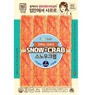 [연휴특가]대림선 스노우크랩 145g