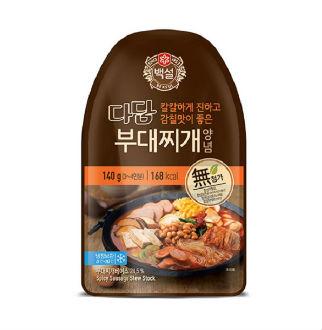 [슈퍼마트]CJ 다담 부대찌개 양념140g